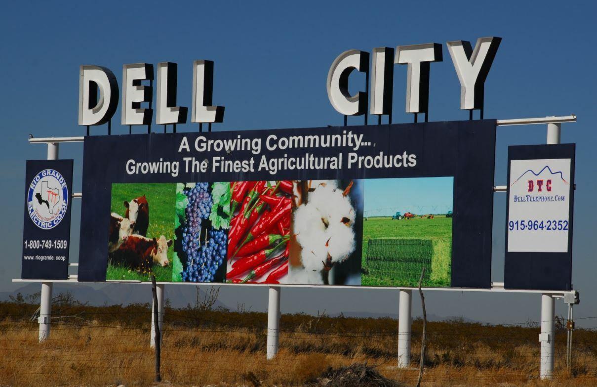 20 Acre Parcel Near Dell City, Texas  - $3,000.00