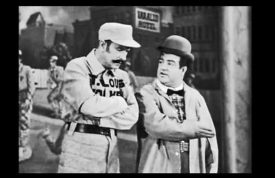 Abbott & Costello Who's on 1st PHOTO Famous Movie Baseball Skit Who's On First?