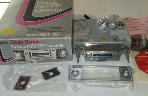 (UNUSED!)) VERY RARE CAR CASSETTE TAPE PLAYER BOMAN