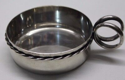 Joli taste vin en métal argenté