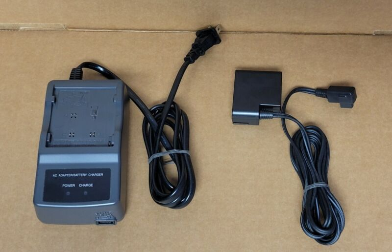 Sharp Viewcam Camcorder AC Adapter/Battery Charger UADP-0274TAZZ FREE SHIPPING