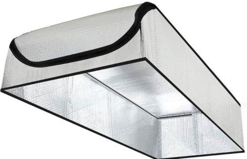 """SmartATTIC - 25""""x54""""x11"""" Attic Door Insulation Cover, Attic Stairs Tent, Seal"""