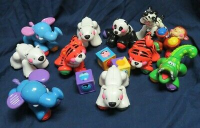 Huge Lot of Fisher Price Amazing Animals Click Developmental Toys 14 pcs (Q39)