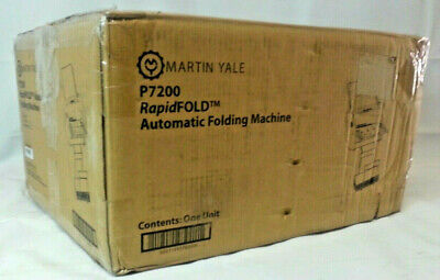 Martin Yale P7200 Premier Rapid Fold Desktop Paper Folder Open Box