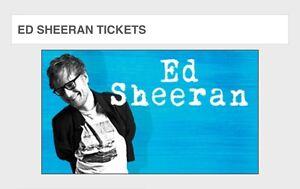 SOLD!!! Ed Sheeran Ticket (Brisbane - Wednesday) Redbank Plains Ipswich City Preview
