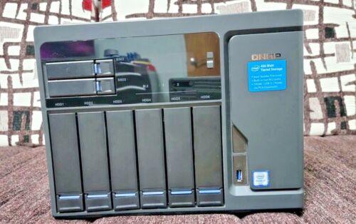 QNAP TVS-882 Core i7 64GB RAM 10Gbps