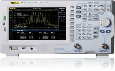 Rigol Dsa815-tg Spectrum Analyzer With 1.5 Ghz Tracking Generator