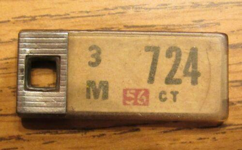 1956 Connecticut DAV License Plate Keychain CT - 3M724