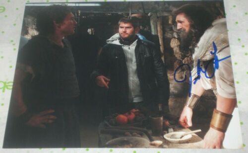 JONATHAN LIEBESMAN SIGNED WRATH OF THE TITANS DIRECTOR 8X10 PHOTO AUTOGRAPH COA
