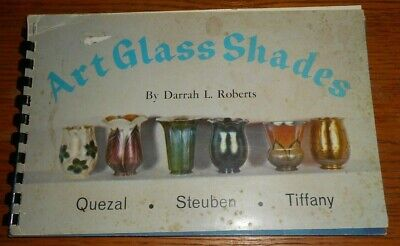 Art Glass Shades by Darrah L. Roberts (1968, Spiral Bound)