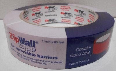 Zipwall T160 Tape For Dust Barriers 1-inch X 60-feet