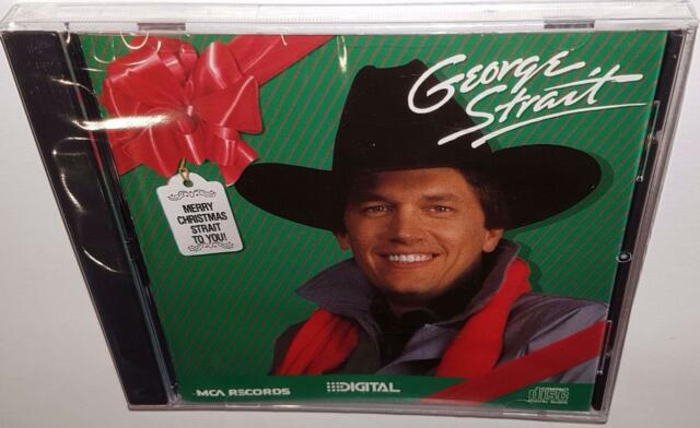 GEORGE STRAIT MERRY CHRISTMAS STRAIT TO YOU (1995) BRAND NEW SEALED CD