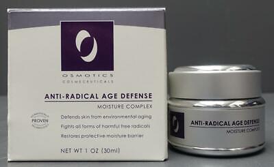 Osmotics Cosmeceuticals Anti-Radical Age Defense Moisture Complex 1oz 30ml Anti Radical Age Defense