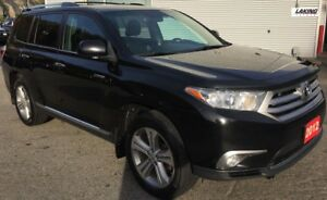 "2012 Toyota Highlander Limited AWD """"LUXURIOUS"""" 3rd ROW SEATING"