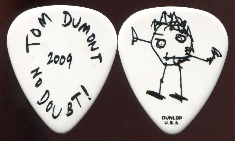 NO DOUBT 2009 Summer Tour Guitar Pick!!! TOM DUMONT custom concert stage Pick #1