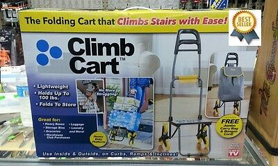 The Climb Cart Stair Climbing Folding Utility Trolley Stair AS SEEN ON TV - NEW