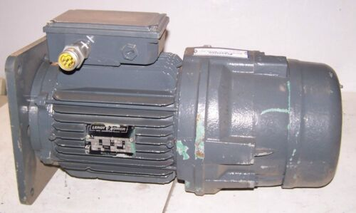 NEW LEROY SOMER 3 HP ELECTRIC BRAKE MOTOR 190 DELTA/380Y VAC 1400 RPM 3 PHASE