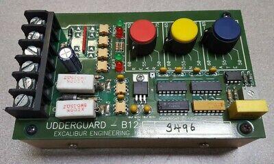 Boumatic Pulsation Control Board Udderguard-b12 Programmable Computer Board Used