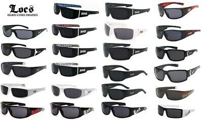 LOCS Sunglasses OG Original Gangster Hardcore Shades Cholo Biker (Bikers Glasses)