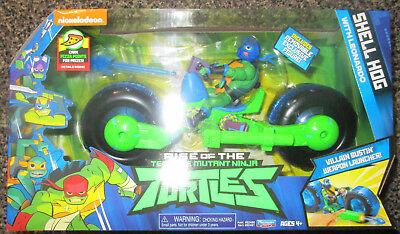 RISE OF THE TEENAGE MUTANT NINJA TURTLES SHELL HOG WITH LEONARDO EXCLUSIVE](Leonardo The Ninja Turtle)