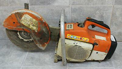 Stihl Ts 400 Gas Powered Concrete Cut-off Saw With 12 Blade Weak Clutch