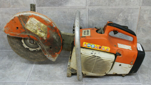 "Stihl TS 400 Gas Powered Concrete Cut-Off Saw with 12"" Blade (WEAK CLUTCH)"