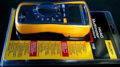 Fluke 116 Digital Multimeter For Hvac Meter. Temp And Microamp
