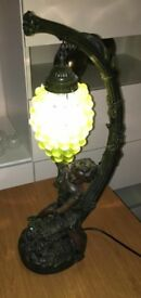 Cherub Grape Lamp