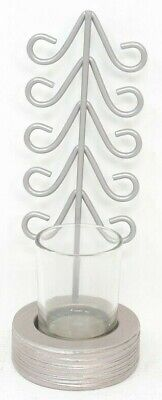 Yankee Candle Winter Wonderment Holiday Tree Votive Candle Holder w Votives A140