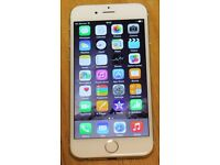 Apple Iphone 6 White and Silver 16GB EE