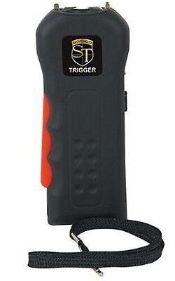 Powerful 4.8 Recharge Black Police Women Self Defense Safety Stun Gun Taser Case
