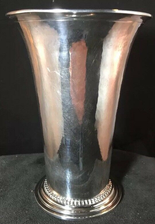 Georg Jensen Sterling Silver Vase Rare # 107 Early Mark