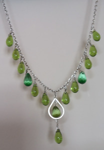 Sterling Silver Necklace & Earring Set