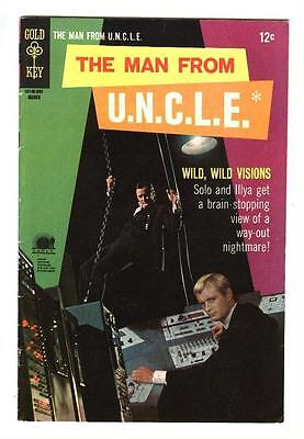Man From Uncle 17  Vf   Deadly Visions Affair  Free Shipping With Bin