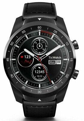 Mobvoi TicWatch Pro Smartwatch / Bluetooth / Wear OS / Schwarz