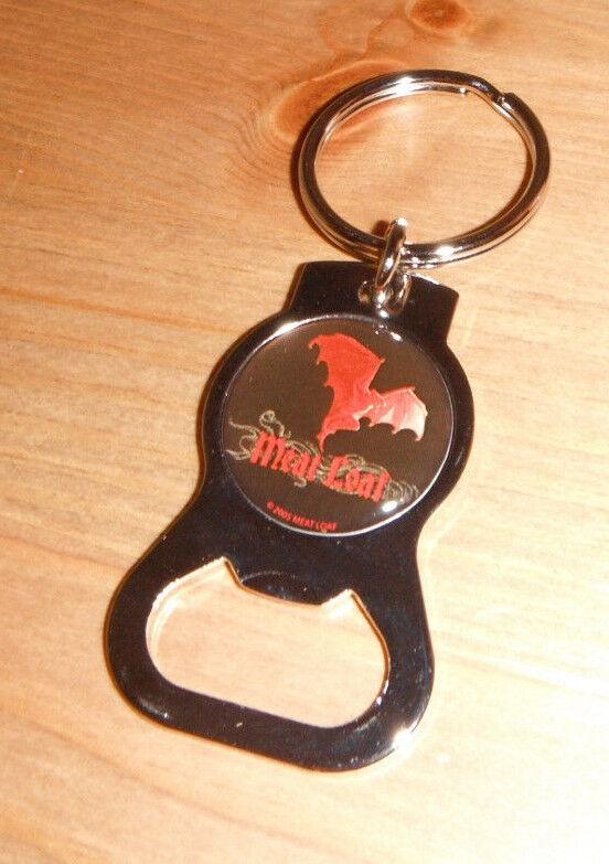 Meatloaf KEYCHAIN bat out of hell BOTTLE OPENER