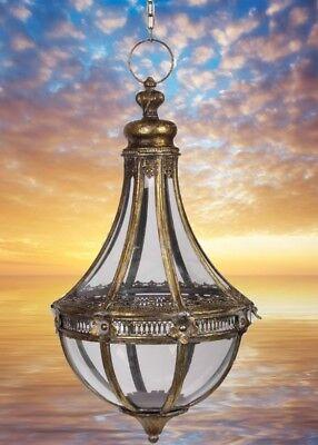 Laterne Hänge Lampe Tropfen Form Leuchten Antiq Beleuchtung Mobiliar Geschenk