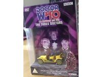 Doctor Who: The Three Doctors - Very Rare DVD & Bessie car 40th Anniversary Boxed set!