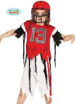Kinder Halloween Zombie Quarterback Amerikanische Fußballspieler Kostüm - Fußball Spieler Halloween Kostüm