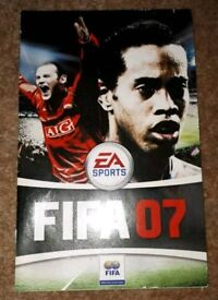 Ps2 sony playstation 2 FIFA 07 game booklet only. gc
