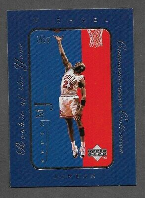 1998 Upper Deck Michael Jordan Rookie Of The Year Commemorative Collection