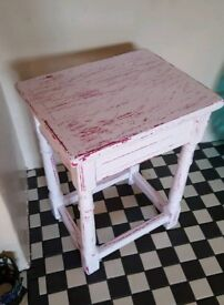 💖 Upcycled/Shabby Chic Table