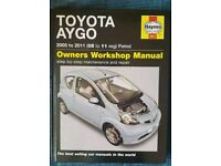 Toyota Aygo Haynes Manual