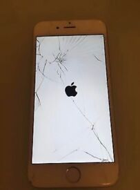 iphone 6 Fully working with broken screen