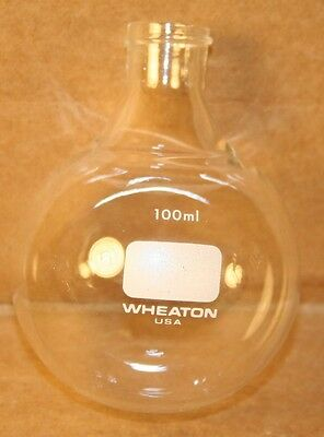 Small Round Wheaton Flask Screw Top 100ml