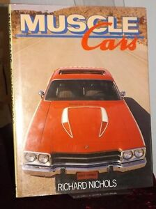 Muscle Cars hardcover book