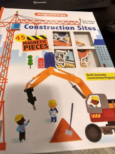 Magnetology: Construction Sites (Magnetic Book)