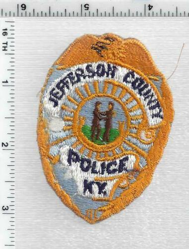 Jefferson County Police (Kentucky) 2nd Issue Cap/Hat Patch