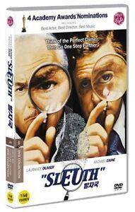Sleuth (1972) / Joseph L. Mankiewicz / Laurence Olivier / DVD SEALED