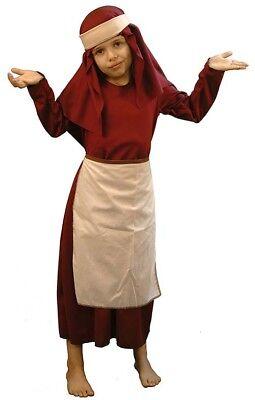 christmas-nativity-school spielt Mrs Gastwirt Kostüm JEDES (Gastwirt Kostüm)